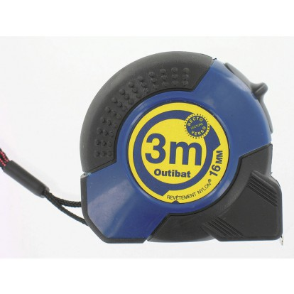 Mesure Bi-matière Pro Outibat - Longueur 3 m