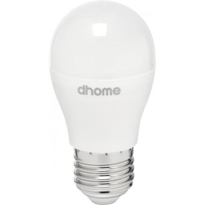 Ampoule LED sphérique E27 dhome - 806 Lumens - 8 W - 2700 K