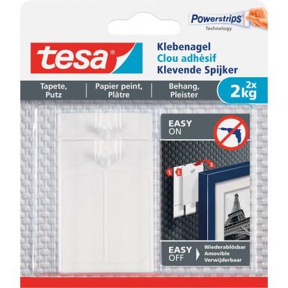 Clou adhésif pour papier peint et plâtre tesa® - 2 kg