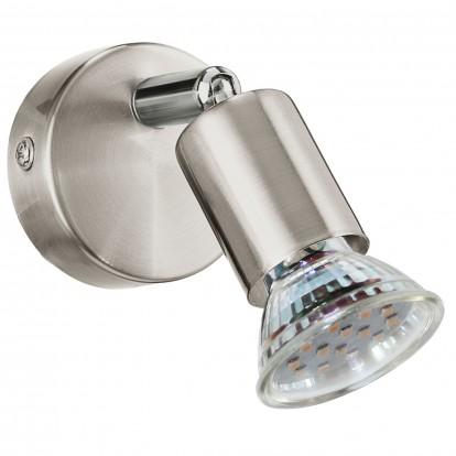 Patère 1 spot Mini-LED Eglo - Diamètre 60 mm