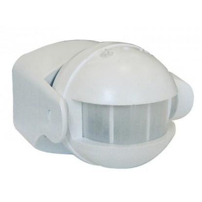 Détecteur de mouvement infrarouge Tibelec - Blanc