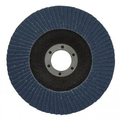 Disque zirconium standard diamètre 125 mm SCID - Grain 80 - Vendu par 1