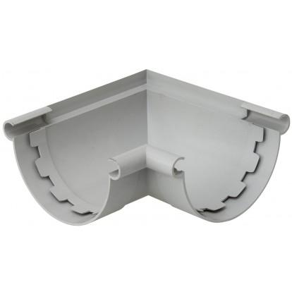 Angle intérieur extérieur - Angle mixte Girpi - Diamètre 25 mm - Gris