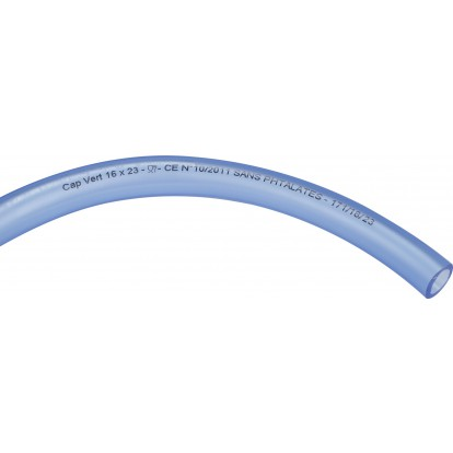 Tuyau cristal Cap Vert - Longueur 25 m - Diamètre intérieur 16 mm - Extérieur 23 mm