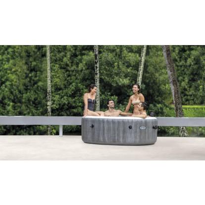 Spa Purespa Baltik connecté Intex - Pour 6 personnes - Diamètre extérieur 216 cm
