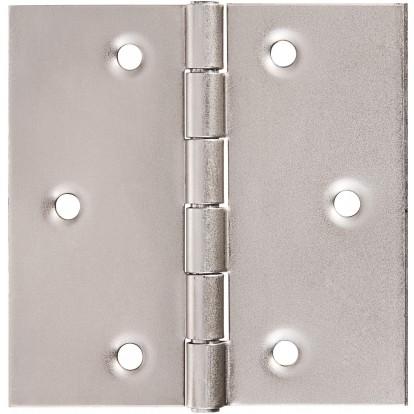 Charnière carrée forte double feuille - Monin - 70X70