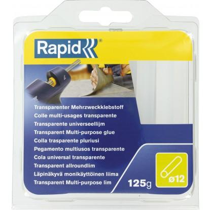 Colle multi-usage diamètre 12 mm Rapid Agraf - Transparente - 125 g