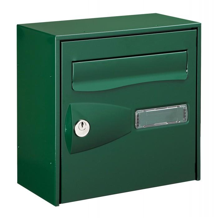 bo te aux lettres citadis decayeux simple face vert de. Black Bedroom Furniture Sets. Home Design Ideas
