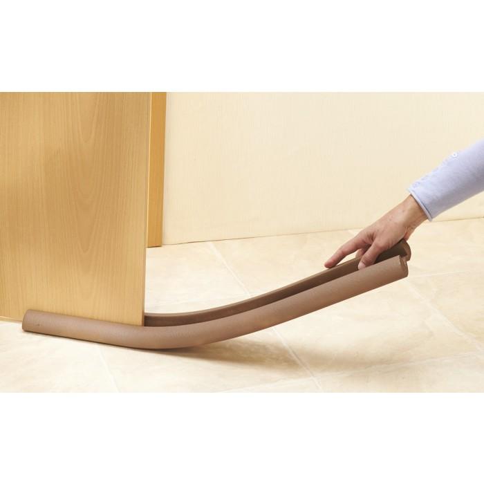 Boudin de porte mottez marron longueur 93 cm de bas de porte 1148161 mon magasin g n ral for Boudin de porte 100 cm