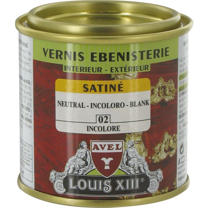 vernis bois satin 125 ml avel louis xiii incolore de vernis bois satin. Black Bedroom Furniture Sets. Home Design Ideas