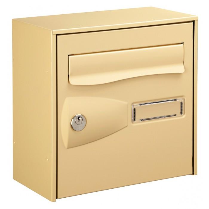 bo te aux lettres citadis decayeux simple face beige. Black Bedroom Furniture Sets. Home Design Ideas