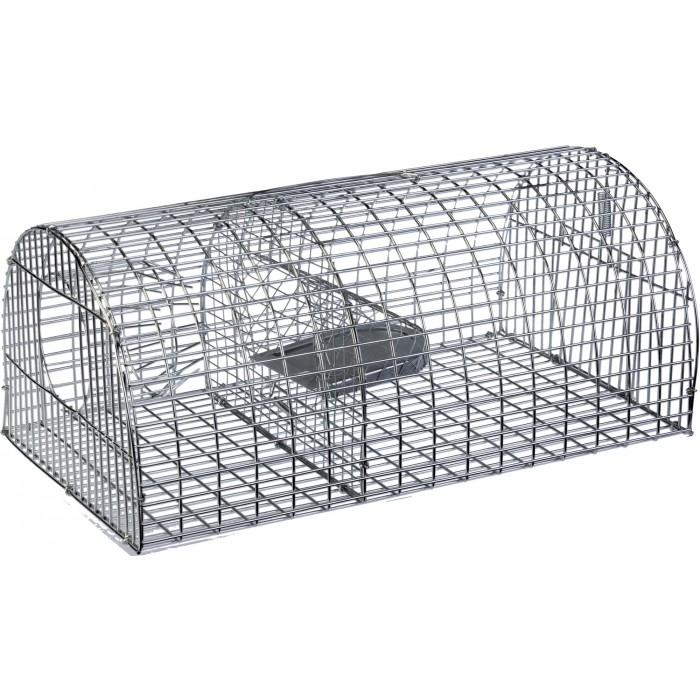 nasse rat multiprise forme tunnel masy grillage galvanis dimensions 40 x 23 x 18 cm. Black Bedroom Furniture Sets. Home Design Ideas