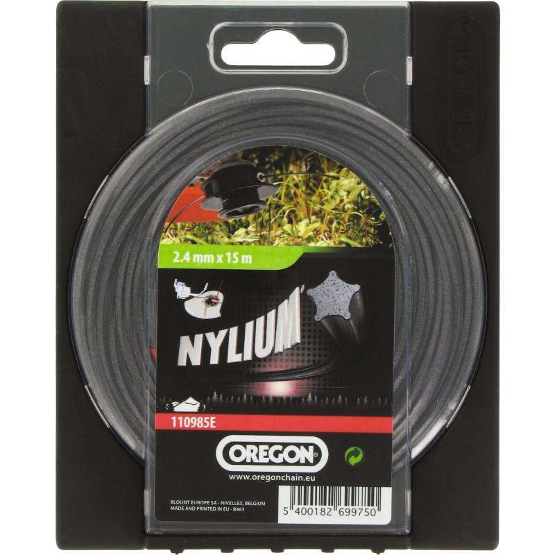 Fil Nylium Oregon - Longueur 15 m - Diamètre 2,4 mm
