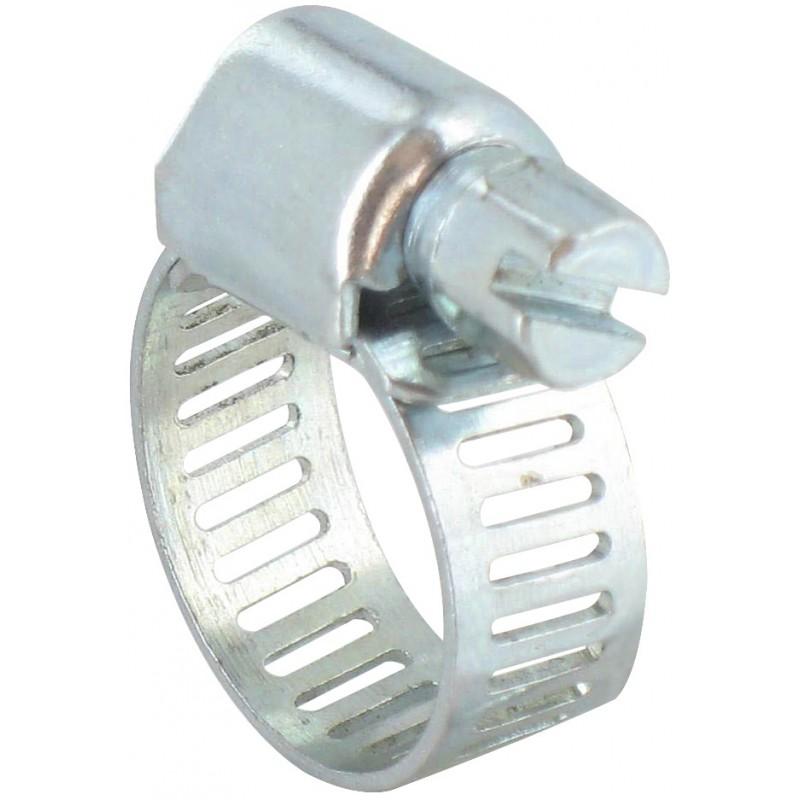 Collier à bande perforée Cap Vert - Diamètre 10 - 16 mm - Longueur 8 mm - Vendu par 4