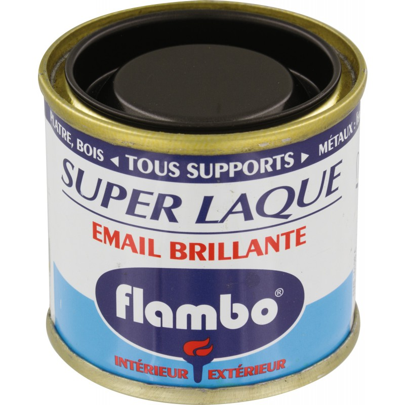 Laque brillante Flambo Flambo - 50 ml - Noir