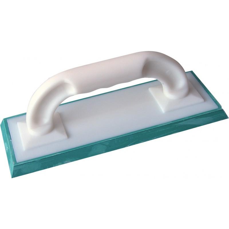 Taloche de carreleur à joint Outibat - Semelle verte - Dimensions 250 x 100 mm