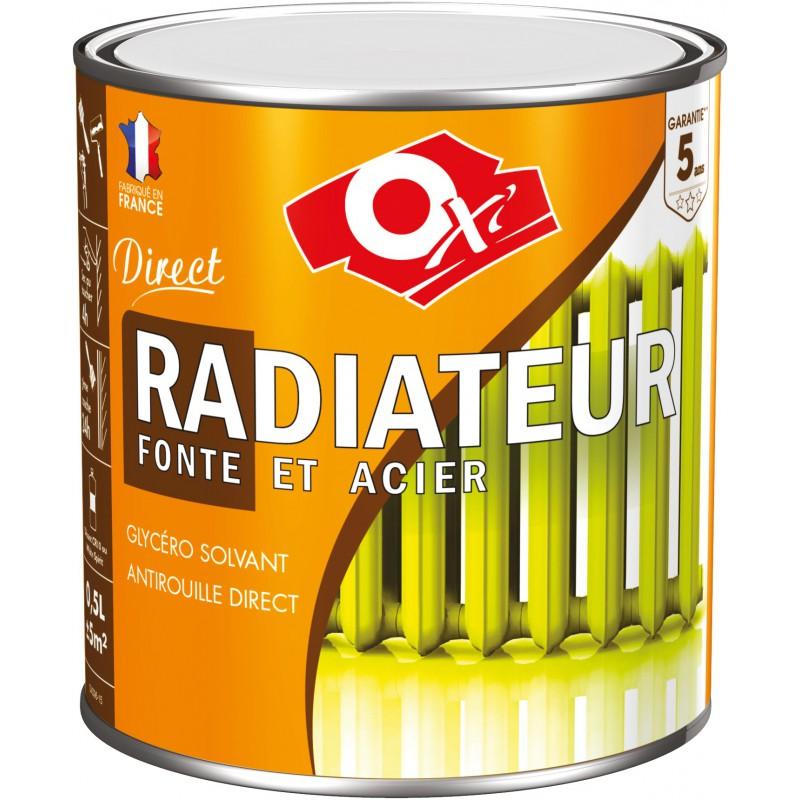 Peinture Antirouille Monocouche Radiateur Fonte Et Acier