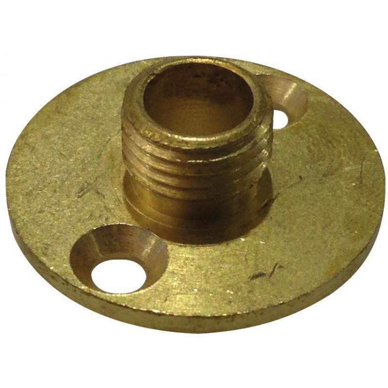 Raccord lustrerie Girard Sudron - A plaque mâle 10 x 1 diamètre 25 mm - Vendu par 1