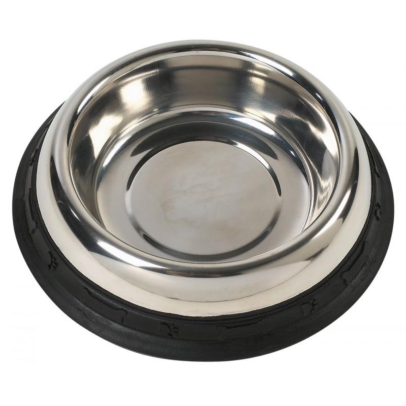 Ecuelle ronde inox Zolux - Diamètre 20 cm - 0,45 l