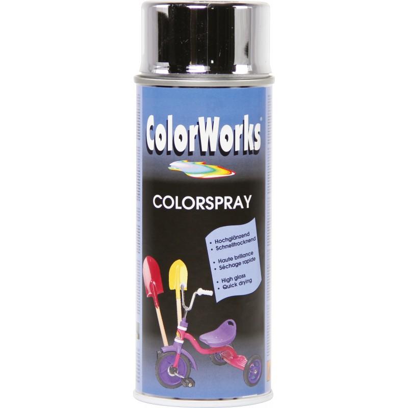 Peinture effet chromé Colorworks - Argent