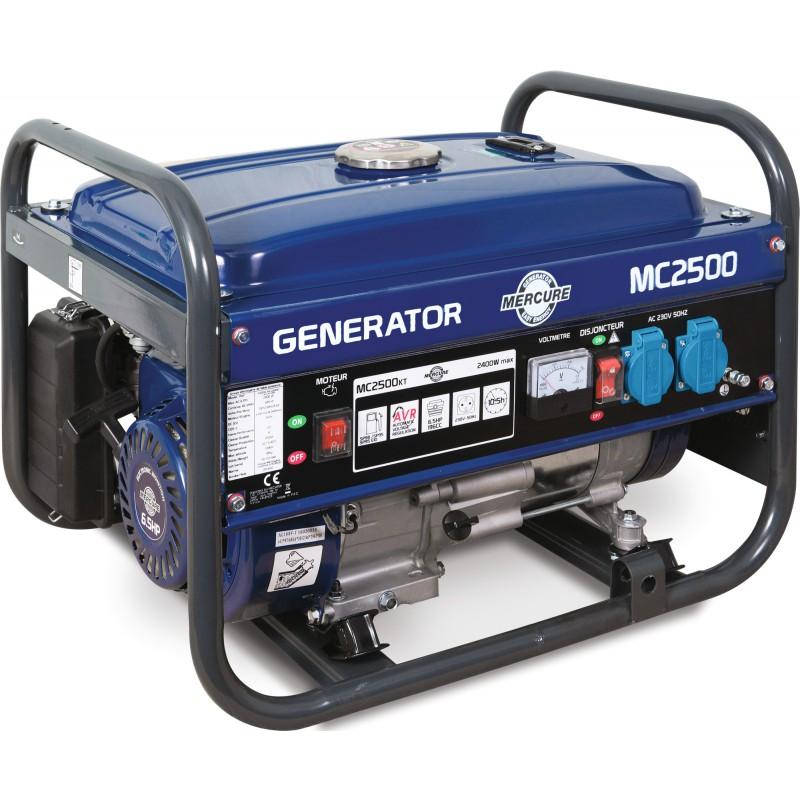 Groupe électrogène MC2500 Mercure - 2400 W