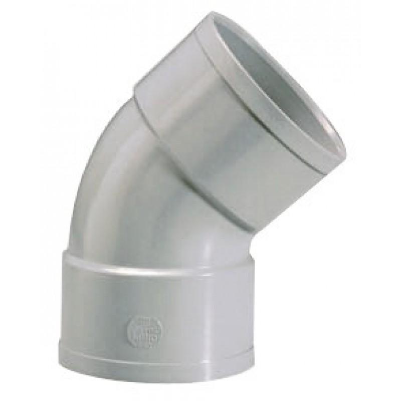 Coude à 45° Femelle / Femelle Girpi - Diamètre 100 mm