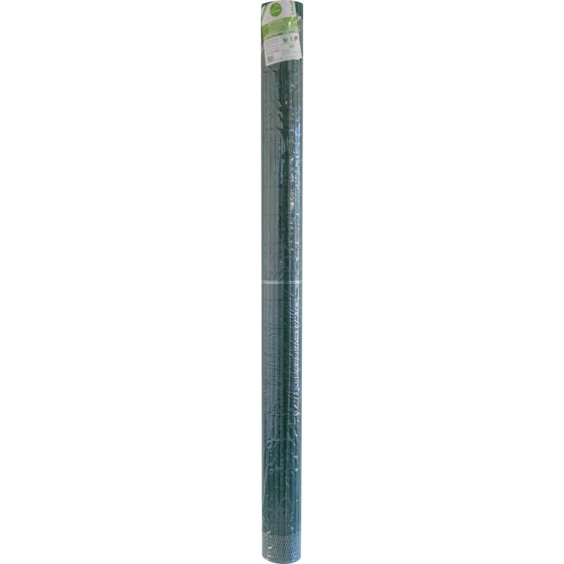 Canisse double face en plastique Catral - Vert - Longueur 3 m - Hauteur 2 m