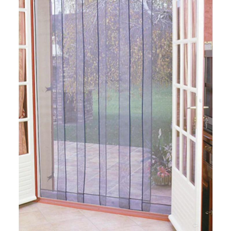 Moustiquaire arles morel largeur maxi 1 m hauteur maxi 220 cm de rideau de porte moustiquaire - Rideau porte exterieur ...