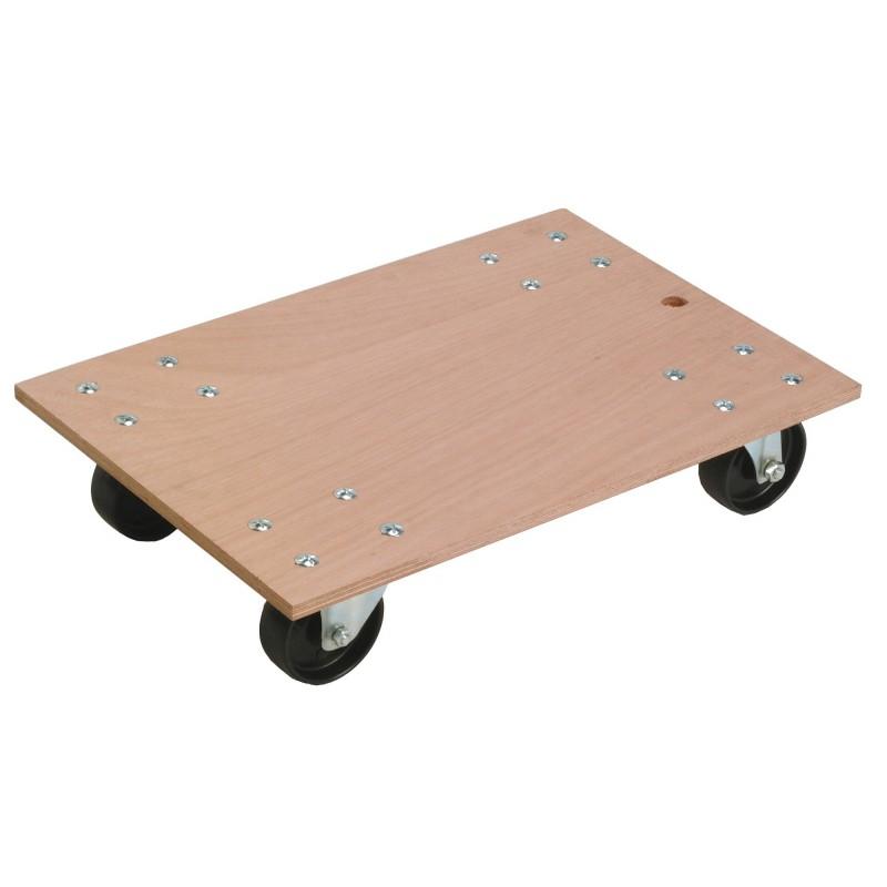 Plateau à roulettes bois Pratic boy Guitel point M - Charge utile 300 kg