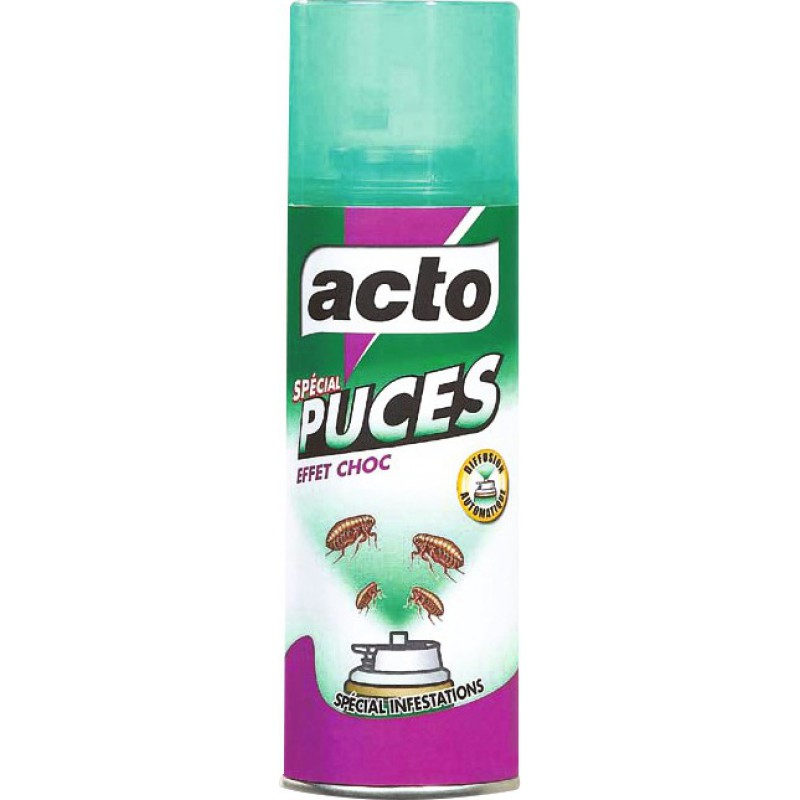 Insecticide Action Choc Puces Acto 100 Ml De Insecticide Puce
