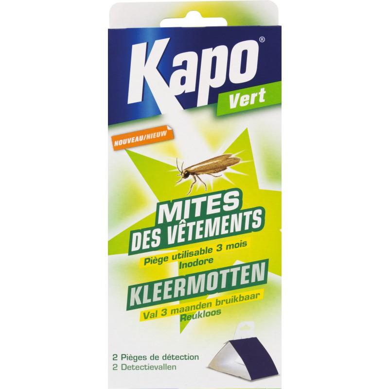 Piège à mites vêtements Kapo Vert - Vendu par 2