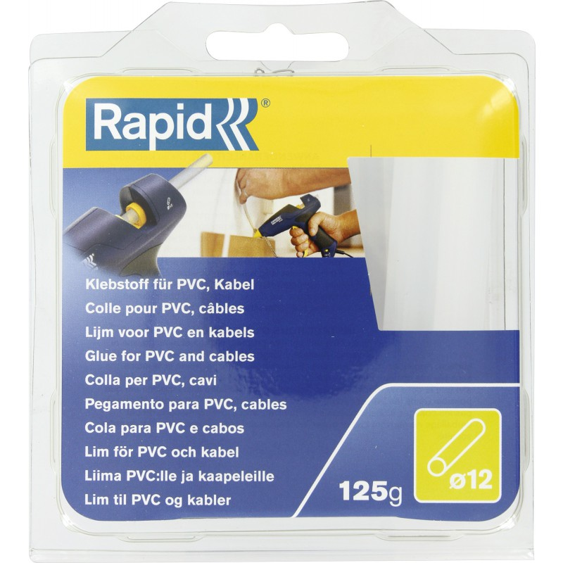 Colle spécifique diamètre 12 mm Rapid Agraf - Pour PVC - Câble - 125 g