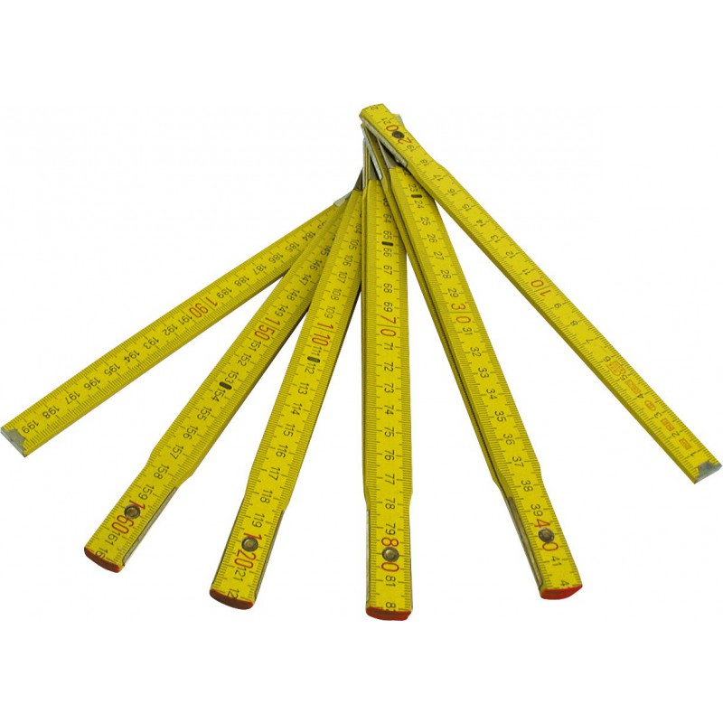 Mesure pliante bois Outibat - Longueur 2 m