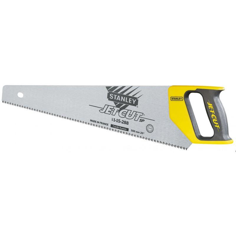 Scie égoïne jet cut Stanley - 7 dents/pouce - Longueur 550 mm