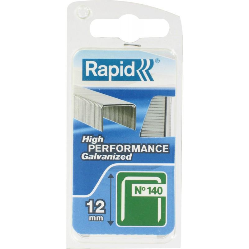 Agrafe n°140 Rapid Agraf - Hauteur 12 mm - 650 agrafes