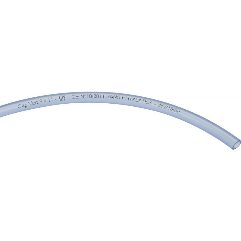 Tuyau cristal Cap Vert - Longueur 50 m - Diamètre intérieur 8 mm - Extérieur 11 mm
