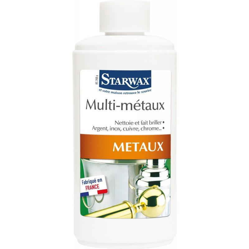 Entretien multi-métaux Starwax - Flacon 250 ml