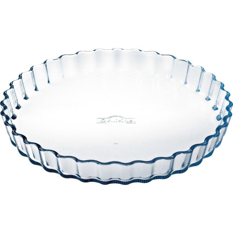 Moule à tarte en verre - Diamètre 27 cm