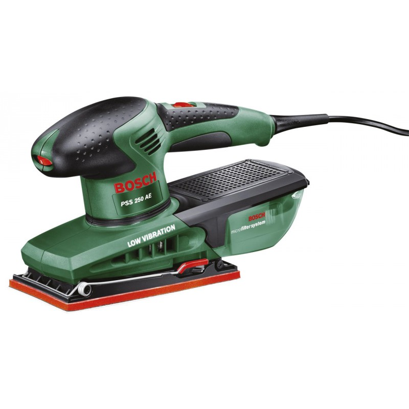 Ponceuse vibrante PSS 250 AE+ Bosch - 250 W