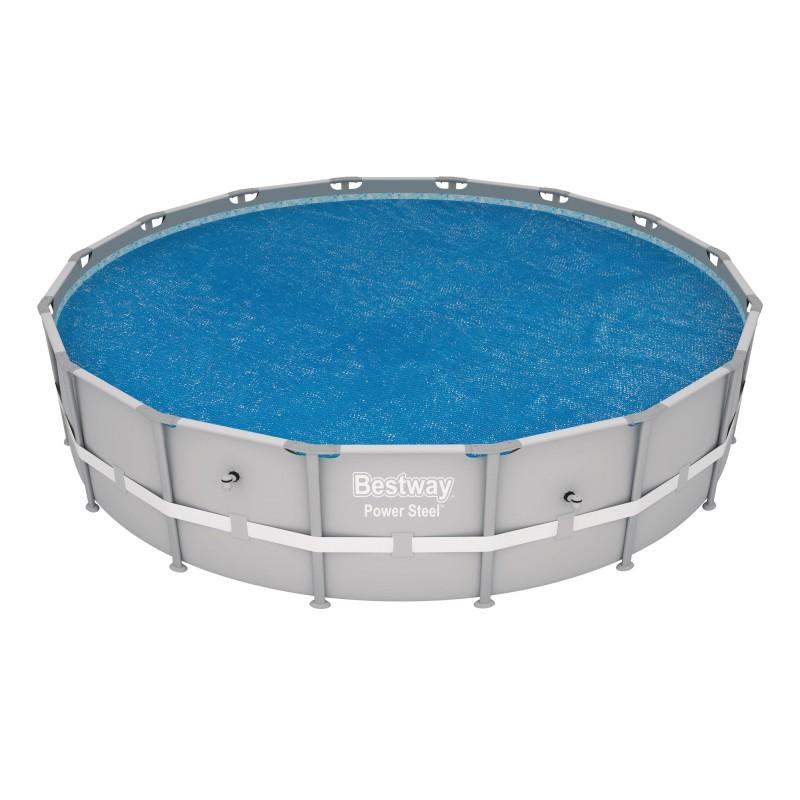 Bâche à bulles ronde Bestway - Pour piscine de 4,88 m de diamètre