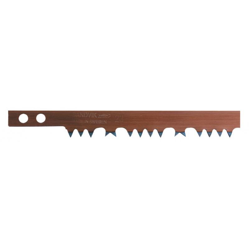 Lame de scie à bûches acier suédois Bahco - Longueur 76 cm