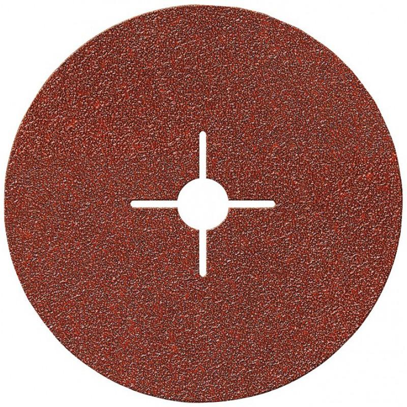 Disque alésage étoilé diamètre 12 mm SCID - Grain 80 - Diamètre 125 mm - Vendu par 5
