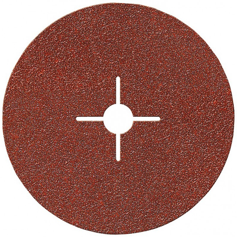 Disque alésage étoilé diamètre 12 mm SCID - Grain 40, 80, 120 - Diamètre 125 mm - Vendu par 5