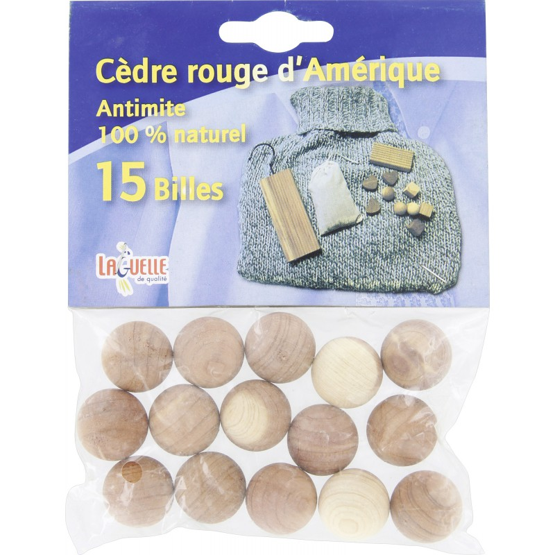 Antimites 100 % naturel Laguelle - 15 billes