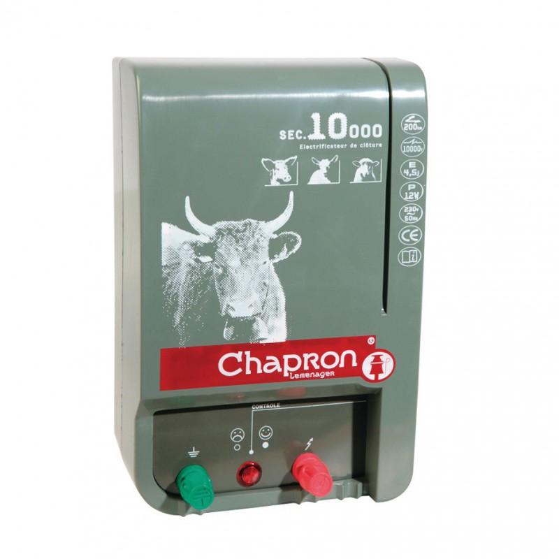 Electrificateur sur secteur SEC 10 000 V Chapron Lemenager