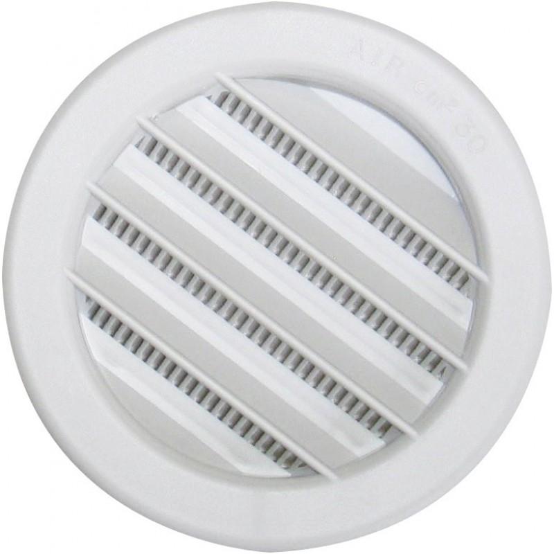 Grille plastique universelle à encastrer DMO - Diamètre 125 mm