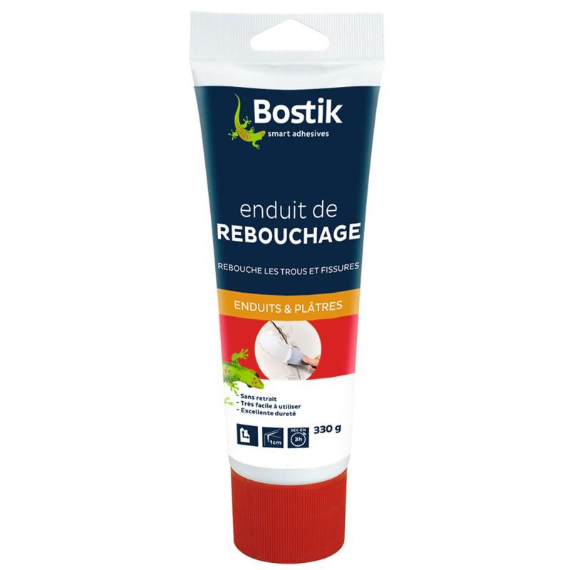 Enduit pâte de rebouchage Bostik - Tube 330 g