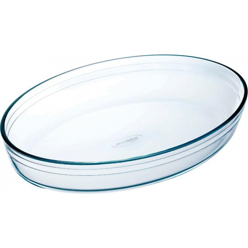 Plat ovale en verre O cuisine - Longueur 300 mm