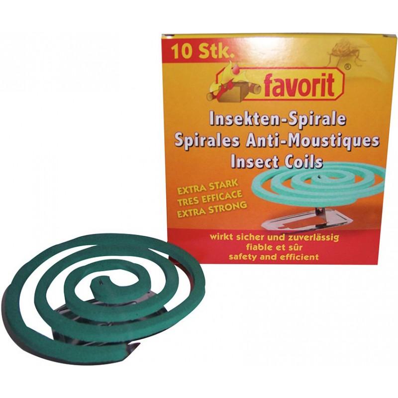 Spirale anti moustique favorit vendu par 10 de spirale anti moustique for Peinture anti moustique
