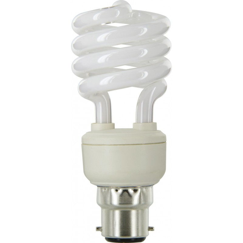 Ampoule fluocompact spirale Dhome - B22 - 15 W - 799 Lumens